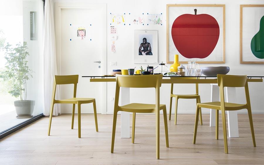 Skin lattanzi kitchen design - Sedia cream calligaris ...