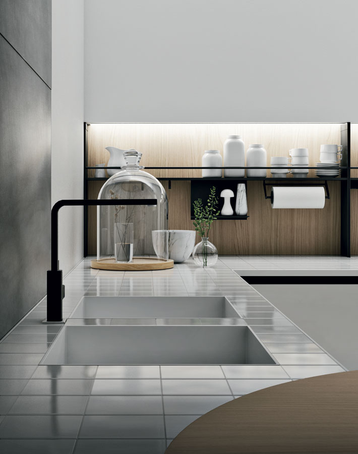 Soho lattanzi kitchen design for Doimo cucine bolzano